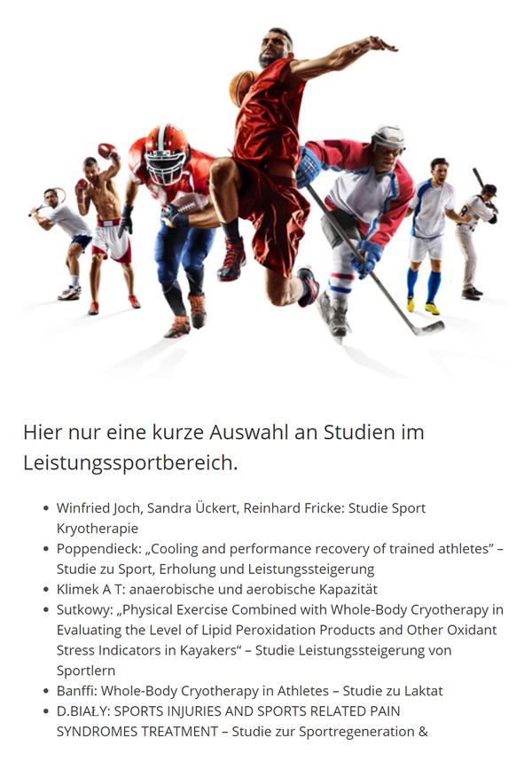 Ganzkoerper Kältetherapie Legales Doping aus 70173 Stuttgart